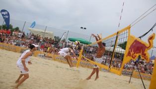 Profi-Match bei der Beachtrophy in St. Marienkirchen an der Polsenz