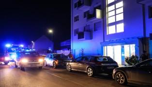 Feuerwehr bei gemeldeten Gasgeruch in Wels-Lichtenegg im Einsatz