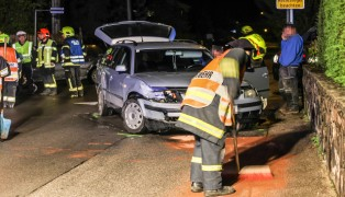 Kreuzungscrash in Marchtrenk fordert einen Verletzten