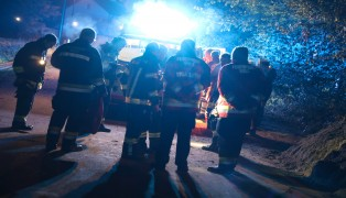 Feuerwehr bei Personensuche in Wels-Pernau im Einsatz