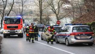 Kreuzungscrash in Leonding endet glimpflich