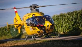 Notarzthubschrauber des ÖAMTC verzeichneten im Jahr 2016 österreichweit 17.814 Einsätze
