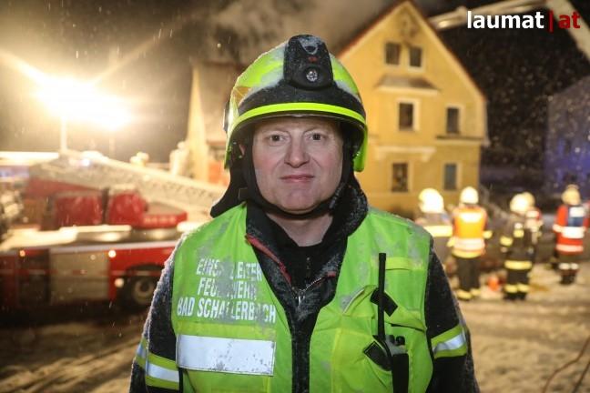 Bruno Roithmeier, Einsatzleiter  Feuerwehr Bad Schallerbach