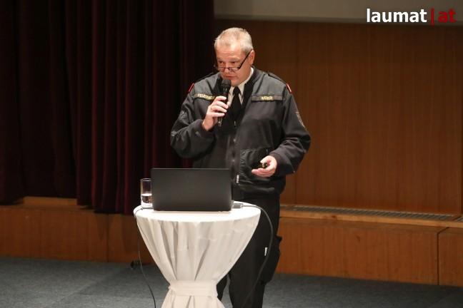 Roland Weber, Feuerwehr Wels