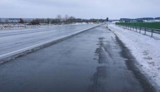 LKW kollidierte in Edt bei Lambach mit Räumfahrzeug