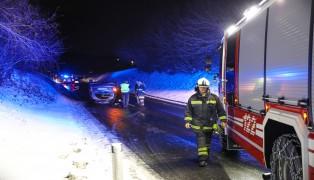Autoüberschlag auf der Voralpenstraße in Sattledt endet glimpflich