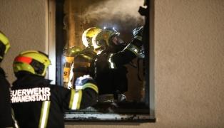 Brand im Schlafzimmer eines Wohnhauses in Schwanenstadt
