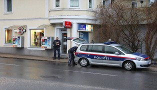 Raubüberfall auf Trafik in Schwanenstadt
