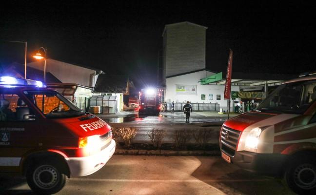 Fünf Feuerwehren bei Brand in Grünburg im Einsatz