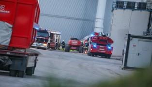 Brand in Abfallverwertungsunternehmen in Wels-Schafwiesen