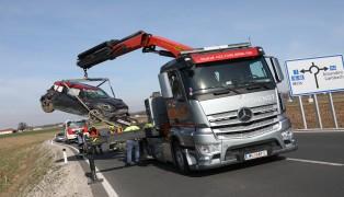 Zwei Verletzte bei Überschlag mit Auto in Edt bei Lambach