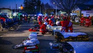 Hunderte Einsatzkräfte beteiligten sich an spektakulärer Großübung in Offenhausen