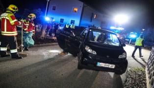 Kreuzungscrash im Siedlungsgebiet in Pasching endet glimpflich