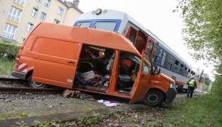 Kleintransporter-Lenker (57) erlag nach Kollision mit Almtalbahn seinen schweren Verletzungen