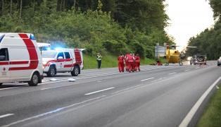 Motorradlenker (62) nach schwerem Unfall in Bad Schallerbach im Klinikum verstorben