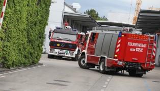 Rauchentwicklung bei Produktionsanlage eines Gewerbebetriebs in Wels-Pernau sorgt für Einsatz