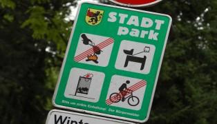 Feuerwehr zur Rettung eines Kindes im Stadtpark Kirchdorf an der Krems alarmiert