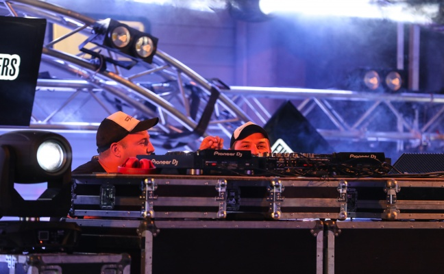 """Funky House Brothers beim """"Beef & Sound Festival"""" in Grieskirchen"""