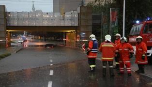 Heftiges Unwetter sorgt für Großeinsatz der Feuerwehren in Oberösterreich