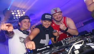 Soundhaufen Festival in St. Marienkirchen an der Polsenz mit Danny Twice, Mike O´Sullivan und Dom_H