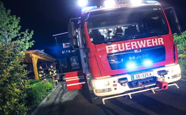 Brand im Keller eines Hauses in Gaspoltshofen rasch abgelöscht