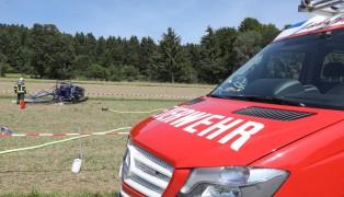 Hubschrauber in Engelhartszell abgestürzt