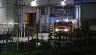 Brand in einem Industriebetrieb in Grieskirchen