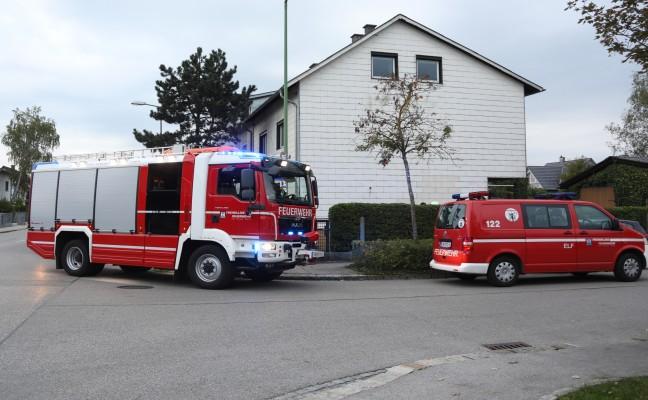 Brandverdacht durch technischen Defekt an Heizungsanlage