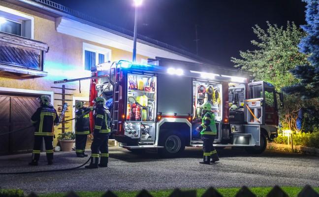 Brand im Heizraum eines Wohnhauses in Gaspoltshofen schnell gelöscht