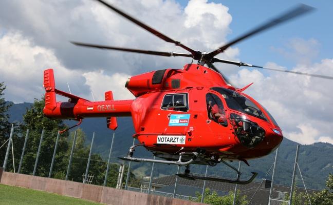 Notarzthubschrauber Martin 3 flog bereits seinen 200. Einsatz