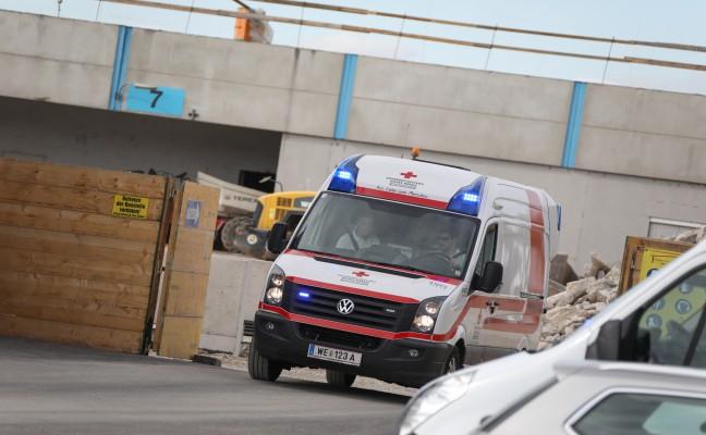 Schwerer Arbeitsunfall auf Baustelle in Gunskirchen
