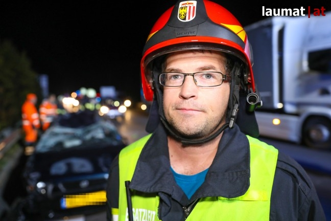 Gerald Lindinger, Einsatzleiter Feuerwehr Sattledt