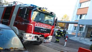 Feuerwehr bei Brandverdacht durch optische Täuschung in Wels-Pernau im Einsatz