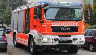 Brand einer Waschmaschine in Leonding fordert eine Verletzte