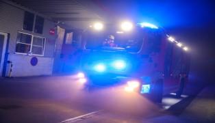 Drei Feuerwehren nach Brand bei Industriebetrieb in Leonding im Einsatz