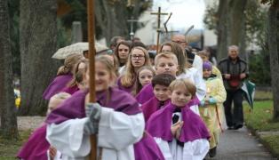 Totengedenkfeier zu Allerheiligen und Allerseelen am Friedhof der Stadt Wels