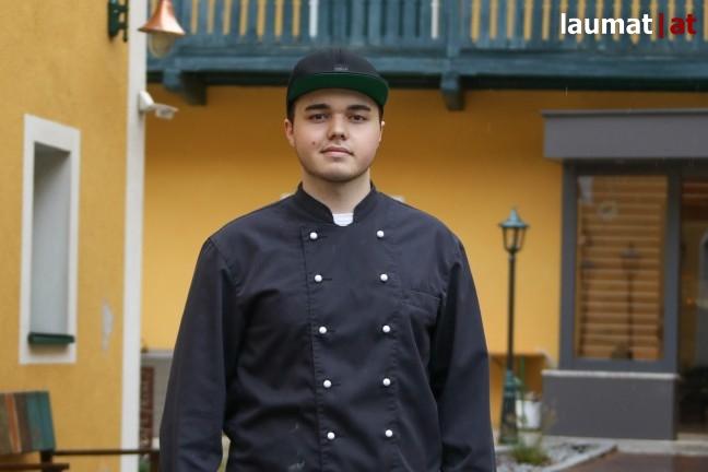 Hubert Wirth, Koch im Hotel Donauschlinge