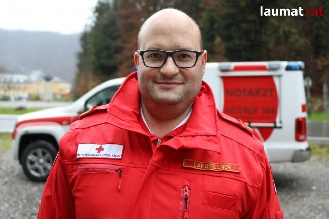 Frank Langfellner, Dienstführer Notarztdienst Rotes Kreuz Eferding