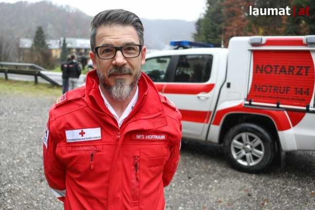 Jan Hoffmann, Rotes Kreuz Eferding