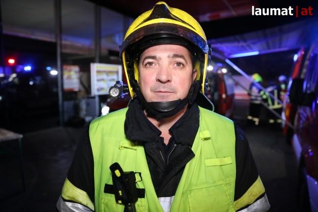 Oskar Reitberger, Einsatzleiter Feuerwehr Traun