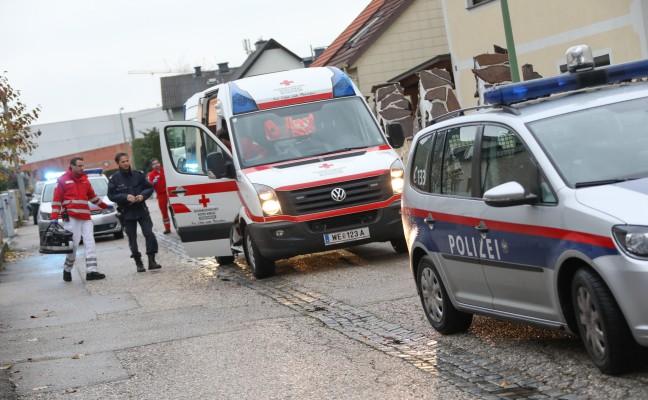 Stichverletzung bei Streit in Wels-Pernau