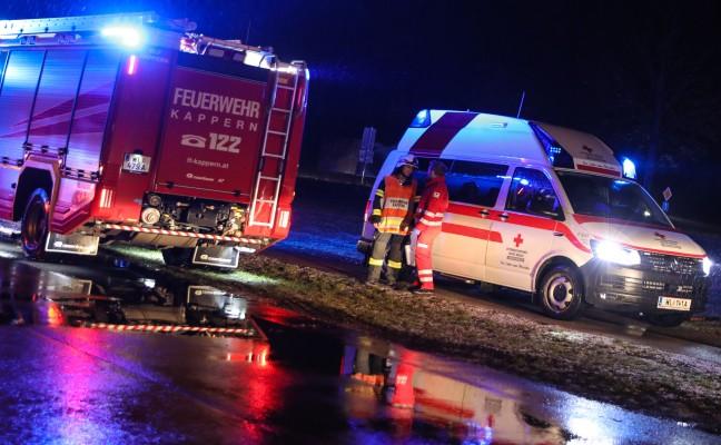 Kerze löst Brand in einem Wohnhaus in Marchtrenk aus