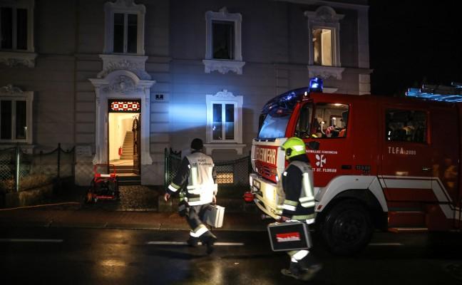 Nach Wohnungseinbruch in St. Florian Tatort in Brand gesteckt