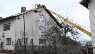 Personenrettung durch die Feuerwehr in Aistersheim
