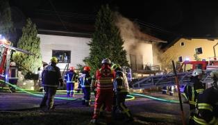 Brand eines Wohnhauses in Neumarkt im Hausruckkreis