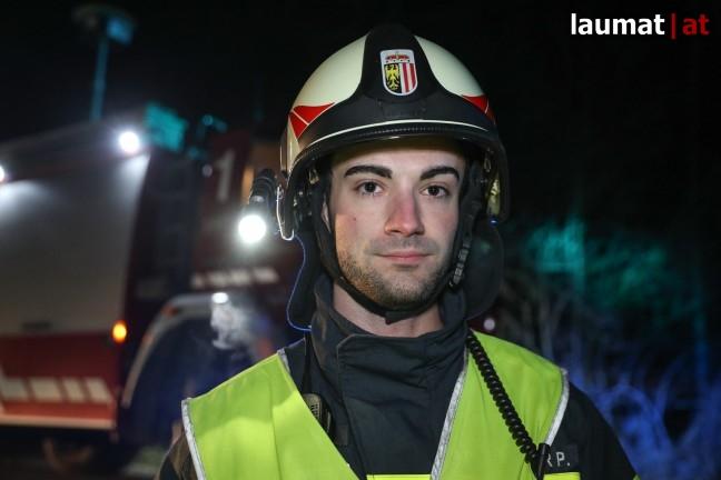 Paul Angerlehner, Einsatzleiter Feuerwehr Holzhausen
