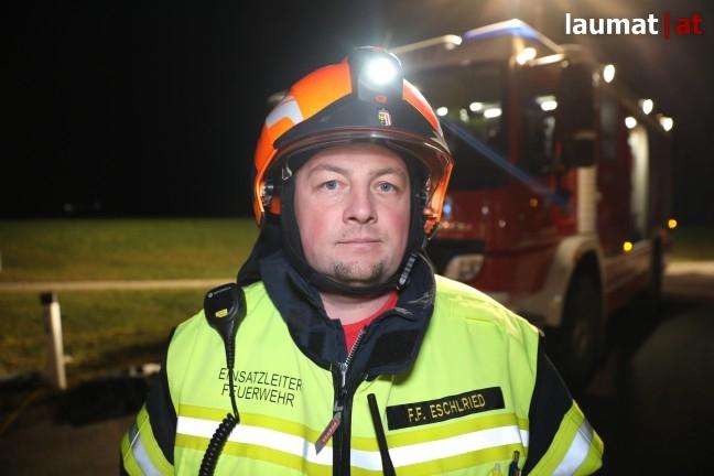 Johannes Hellwagner, Einsatzleiter Feuerwehr Eschlried