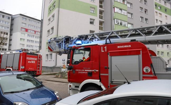 Angebranntes Kochgut in Wohnung sorgt für Einsatz der Feuerwehr in Wels-Lichtenegg