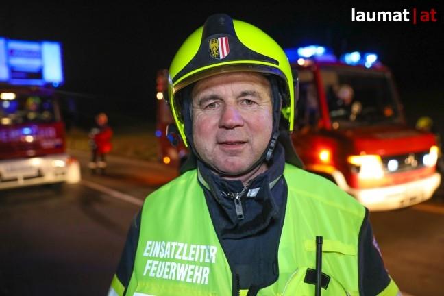 Ferdinand Brunner, Einsatzleiter Feuerwehr Grieskirchen