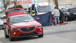 Fußgängerin in Wels-Vogelweide von Auto erfasst und getötet